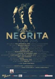 Negrita tour nelle Marche