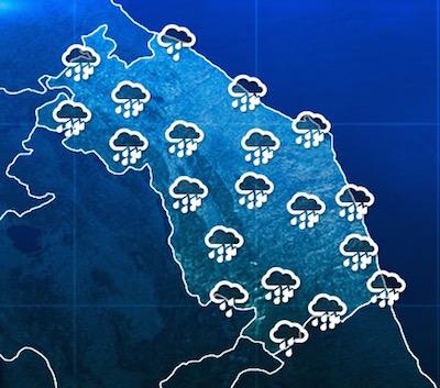 previsioni tempo Marche 22 maggio