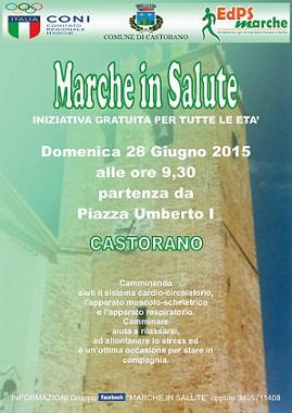 Marche in salute a Castorano 28 giugno 2015