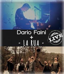 Locandina concerto Dario Faini + La Rua