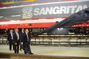 Presentazione Bombardier Sangritana