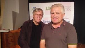 Don Luigi Ciotti con Mario Straccia