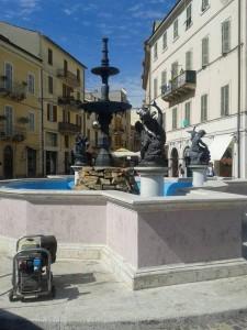 Fontana di piazza Matteotti