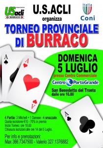 Torneo provinciale di Burraco