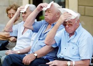 anziani caldo estate
