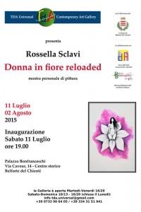 Locandina mostra Rossella Sclavi