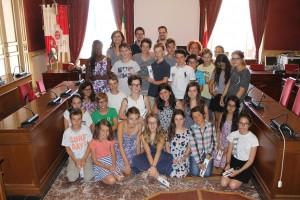 Visita giovani archeologi Macerata