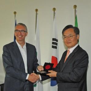 Visita ambasciatore Corea