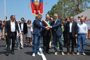 Inaugurazione sottopasso ferroviario San Benedetto del Tronto
