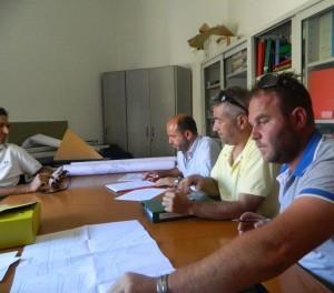 Ancona - firma contratto piazza Rosselli