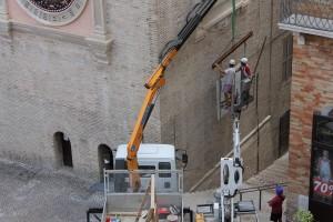 Riposizionamento torre Macerata