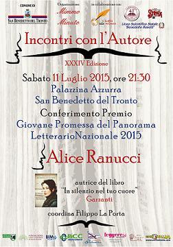 incontri con l'autore Ranucci