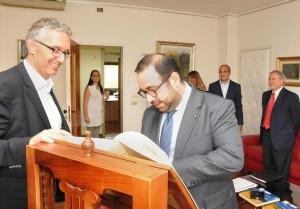 Luca Ceriscioli riceve ambasciatore armeno