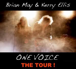Brian May e Kerry Ellis locandina