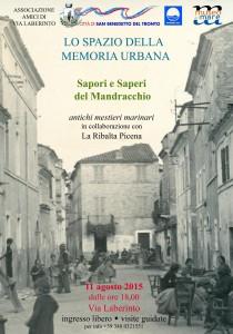 Lo spazio della memoria urbana