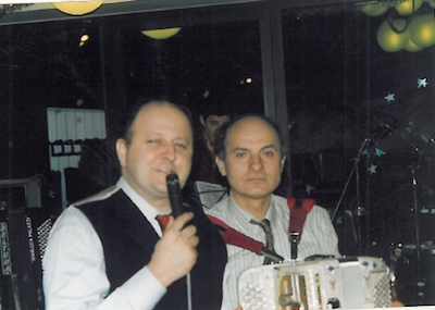 Luciano Palazzi e Massimo Boldi