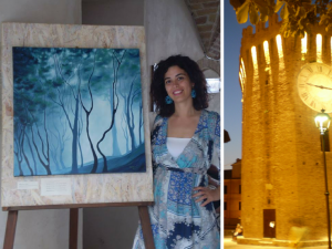 personale di pittura di Milena Bernardini