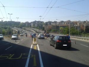 Ancona traffico cantieri