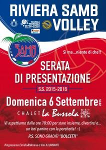 Presentazione stagione sportiva Riviera Samb Volley
