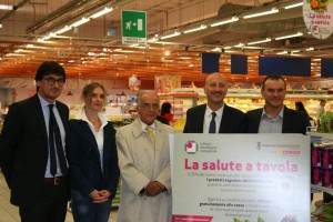 """Presentazione """"La Salute a tavola"""", campagna di sensibilizzazione dell'Istituto Oncologico Romagnolo a una corretta alimentazione"""