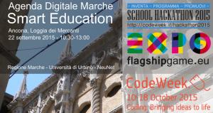 Agenda Digitale Marche: alla Loggia dei Mercanti di Ancona la presentazione delle iniziative dedicate alle scuole secondarie nell'ambito della Smart Education