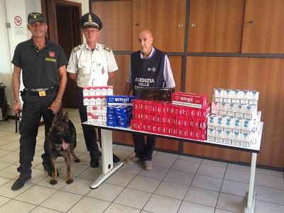 primo carico sigarette scoperte ad Ancona