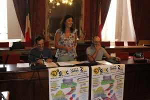 Conferenza stampa presentazione Giochi in Corso
