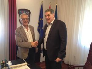 Ancona-Spalato, amicizia rinnovata