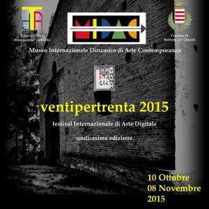 Ancora aperte le iscrizioni al Festival Internazionale di Arte Digitale Ventipertrenta 2015 di Belforte del Chienti