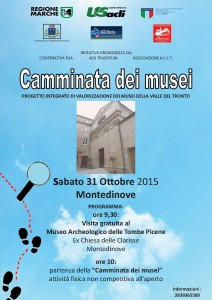 Camminata dei Musei - Montedinove