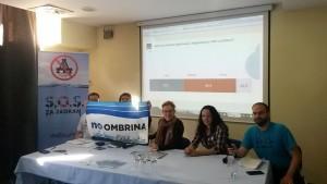 No Ombrina: a Spalato con le associazioni da 5 paesi per salvare l'Adriatico dalle trivelle
