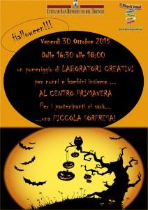 San Benedetto del Tronto, al Centro Primavera si festeggia Halloween