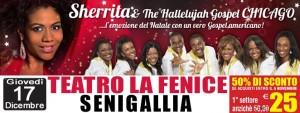 Tre appuntamenti live nelle Marche per Sherrita & The Hallelujah Gospel Chicago