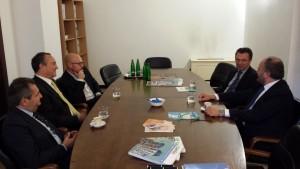 Missione a Praga, primo incontro con Confcommercio Ascoli Piceno e BIM
