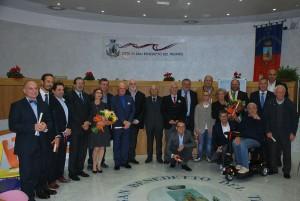 San Benedetto del Tronto, consegnati i premi Gran Pavese Rossoblù 2015