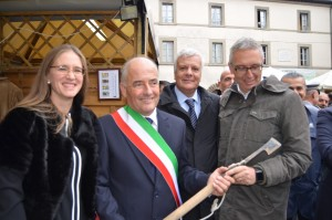 Ministro Galletti a Sant'Angelo in Vado