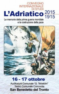 San Benedetto del Tronto, il 16 e 17 ottobre un convegno di studi sull'Adriatico