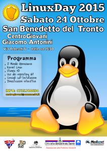 """San Benedetto del Tronto, """"Linux Day"""""""