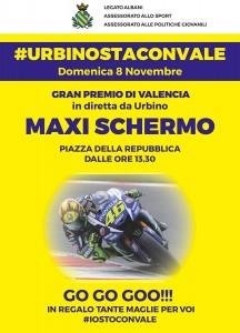 Diretta tv Urbino Valentino Rossi