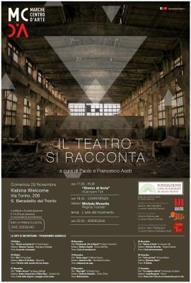 San Benedetto del Tronto, Michele Monetta è il relatore del settimo appuntamento de 'Le arti si incontrano'