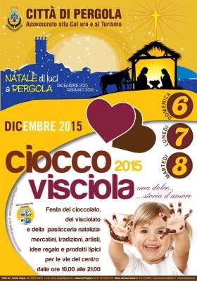 CioccoVisciola di Pergola: cioccolato e visciolato sposano il tartufo con mercatini e musica