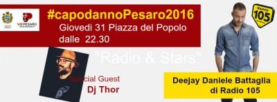 """Capodanno a Pesaro con """"Una pioggia di Note sotto le Stelle"""""""