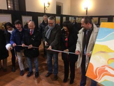 """Pesaro: prosegue fino al 23 dicembre """"I colori della vita"""", mostra in ricordo di Alfideo Mili"""