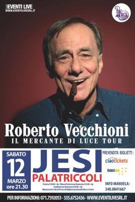 Roberto Vecchioni a Jesi
