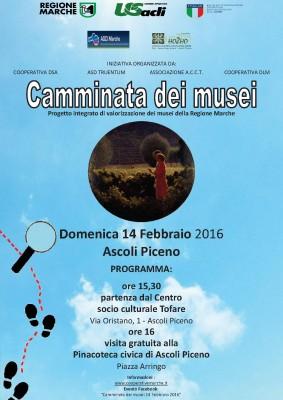 Camminata dei Musei 14 febbraio 2016