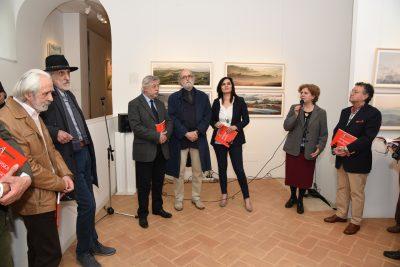 Macerata, paesaggio metafisico in una mostra a palazzo Buonaccorsi