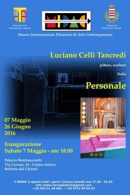 """Mostra """"personale"""" di Luciano Celli Tancredi a Belforte del Chienti"""