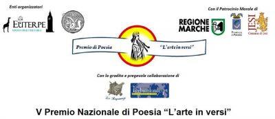 """V Premio Nazionale di Poesia """"L'arte in versi"""""""