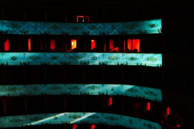 Urbino, TeatrOltre alla scuola di scenografia dell'Accademia di Belle Arti