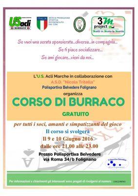 Corso di burraco a Folignano